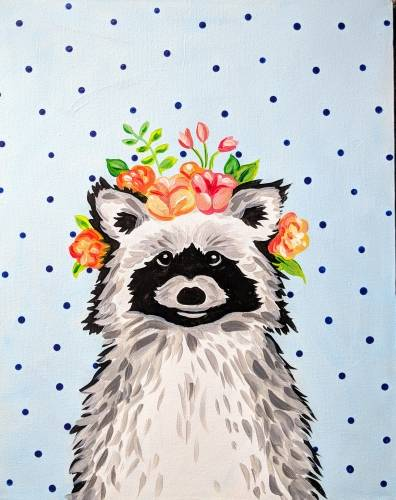 A The Little Raccoon Prince paint nite project by Yaymaker