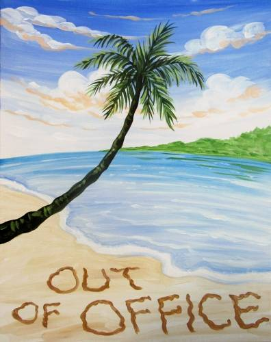 A Out Of Office paint nite project by Yaymaker