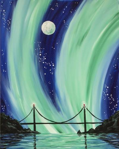 A Aurora Bridge paint nite project by Yaymaker