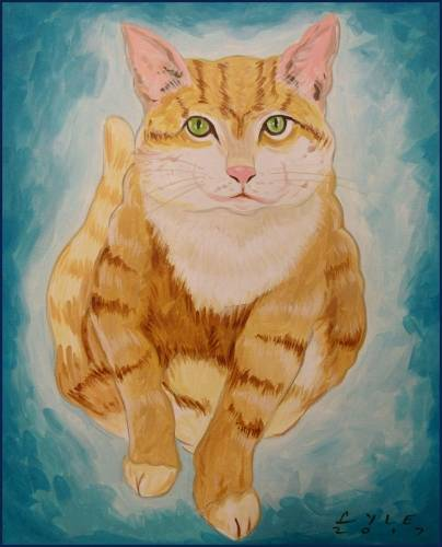 A Special Paint your Pet paint nite project by Yaymaker