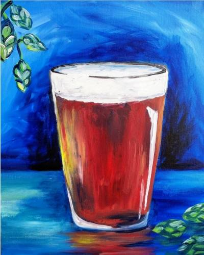 A A Beer paint nite project by Yaymaker