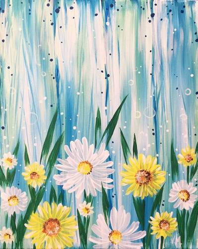 A My Garden paint nite project by Yaymaker