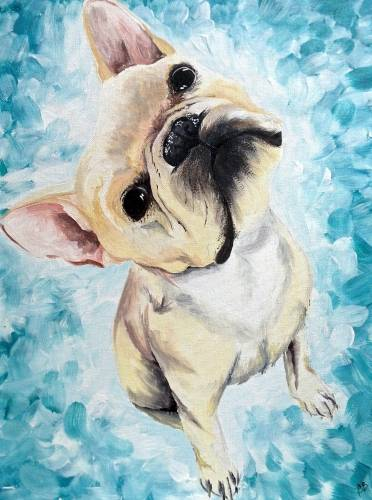 A Paint Your Pet V paint nite project by Yaymaker