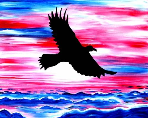 A Above America paint nite project by Yaymaker
