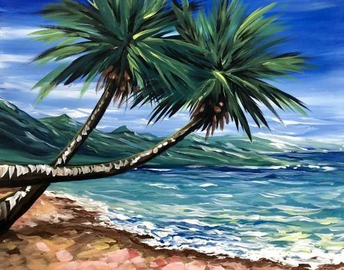 A A Tiny Bit Twisted paint nite project by Yaymaker