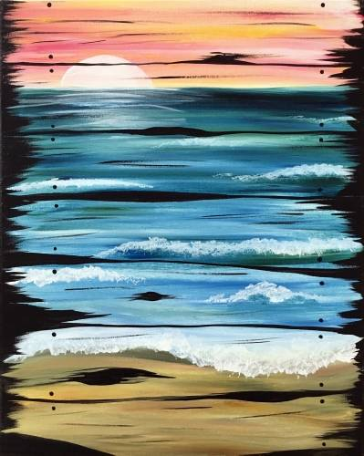 A Drift Away paint nite project by Yaymaker