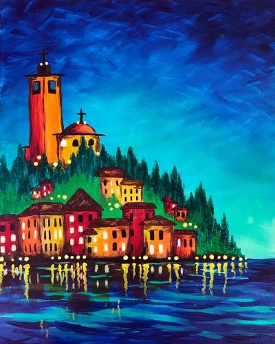 A European Dreams paint nite project by Yaymaker
