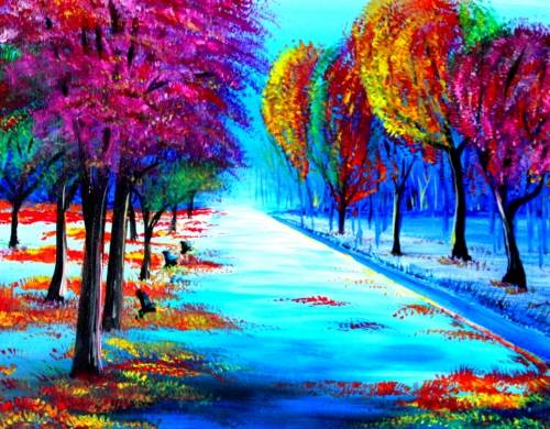 A Autumns Approach paint nite project by Yaymaker