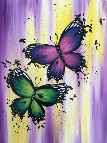 A Splatterfly paint nite project by Yaymaker