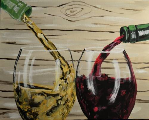 A Red or White paint nite project by Yaymaker