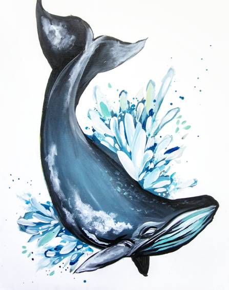 A Whalebert paint nite project by Yaymaker