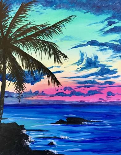 A Summer Nights IV paint nite project by Yaymaker
