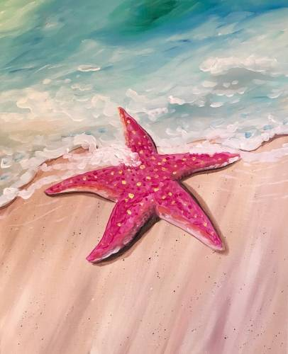A Sea Star II paint nite project by Yaymaker