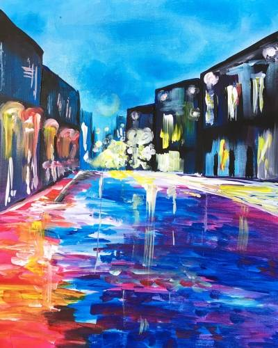 A Light up the Street paint nite project by Yaymaker