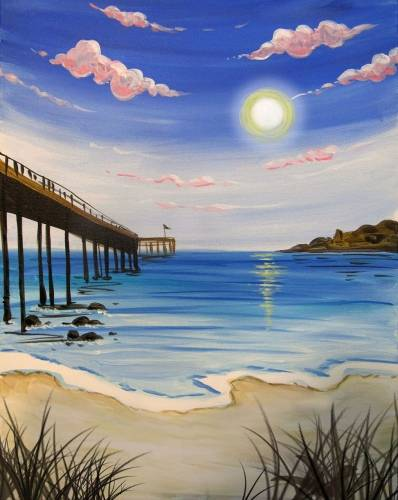 A Jersey Shore paint nite project by Yaymaker