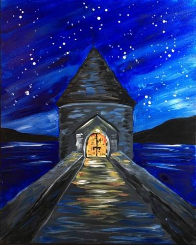 A Saville Dam paint nite project by Yaymaker