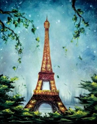 A Enchanted Paris II paint nite project by Yaymaker