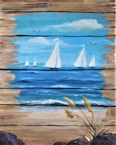 A All aBoard paint nite project by Yaymaker