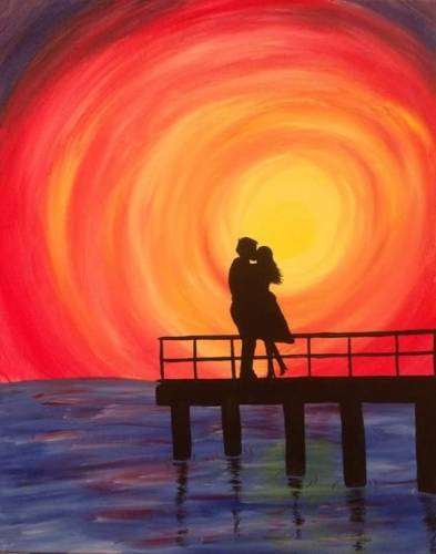 A Pier Passion paint nite project by Yaymaker