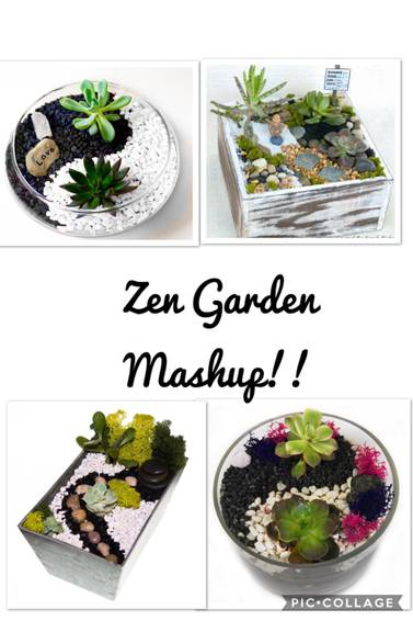 A Zen Garden Mashup plant nite project by Yaymaker