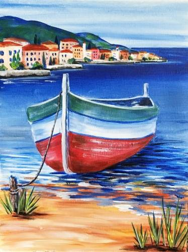 A Tuscan Shoreline paint nite project by Yaymaker