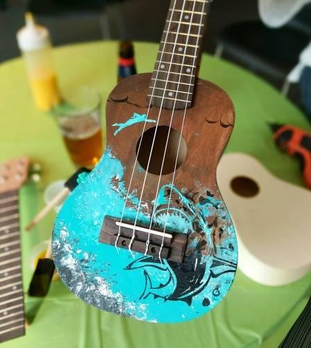 A Create a Ukulele create a ukulele project by Yaymaker