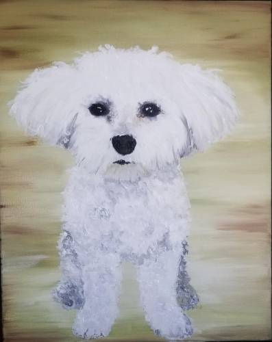 A Paint Your Pet VII paint nite project by Yaymaker