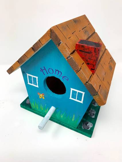 A Build a Birdhouse home to roost project by Yaymaker
