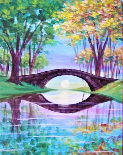 A Bridging the Seasons paint nite project by Yaymaker