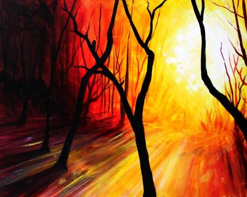 A Duh Woods paint nite project by Yaymaker