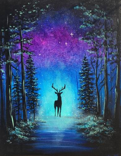 A Forest Guardian paint nite project by Yaymaker