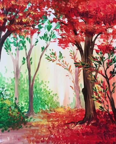 A Fall in red paint nite project by Yaymaker