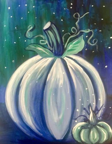 A Mystic Pumpkins paint nite project by Yaymaker