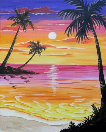 A Summer Memories II paint nite project by Yaymaker
