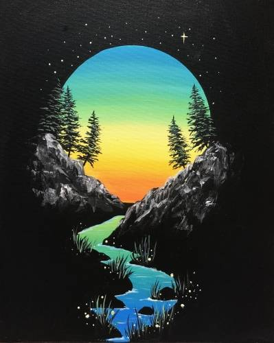 A Twilight Vignette paint nite project by Yaymaker