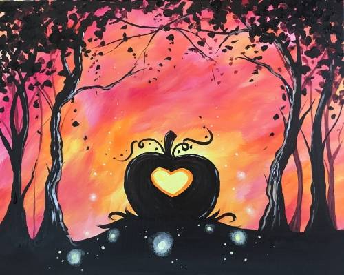 A Love is Fall of Magic paint nite project by Yaymaker