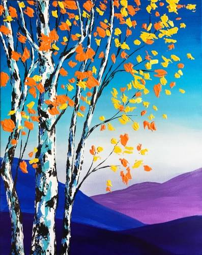 A Mountain Birch paint nite project by Yaymaker