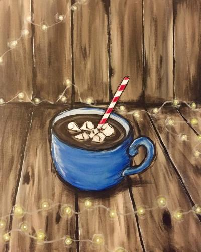 A Warm Winter Cocoa paint nite project by Yaymaker