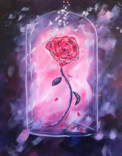 A The Magical Rose paint nite project by Yaymaker