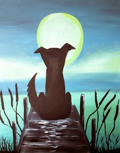 A Dogondock paint nite project by Yaymaker