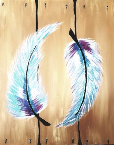 A Feathered Friends paint nite project by Yaymaker