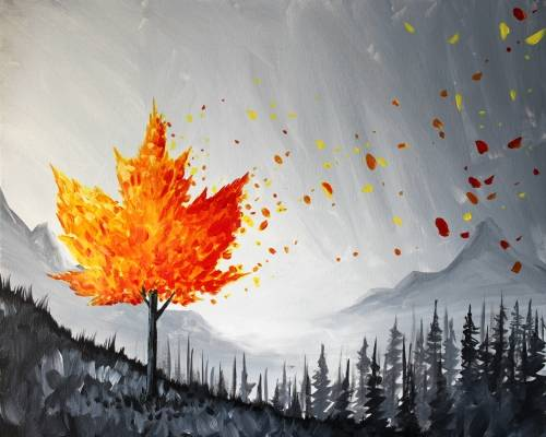 A Meanwhile in Canada paint nite project by Yaymaker