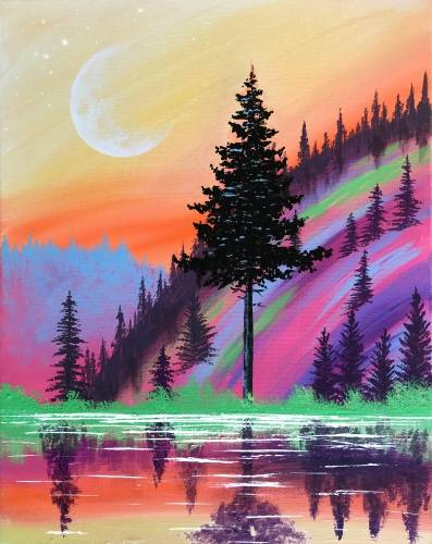 A Radiant Twilight paint nite project by Yaymaker