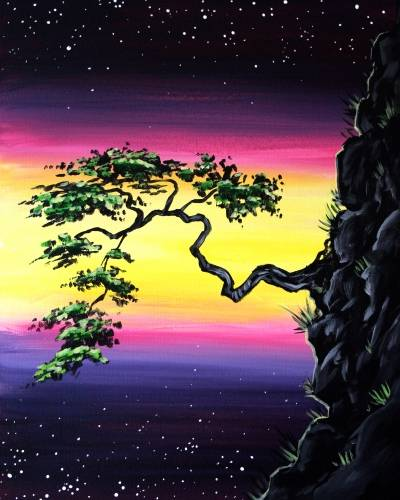 A Its a Space Bonsai Chapter 2 paint nite project by Yaymaker