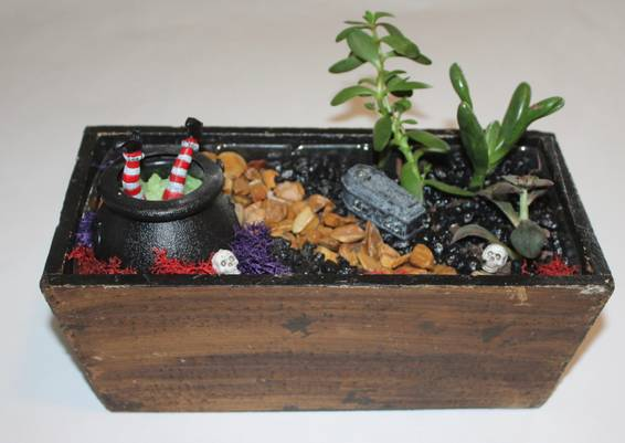 A Spooky Halloween Witch plant nite project by Yaymaker