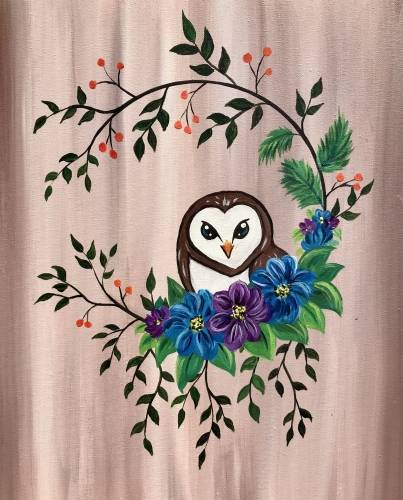 A My Little Barn Owl paint nite project by Yaymaker