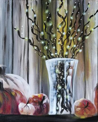 A Twinkly Twigs paint nite project by Yaymaker