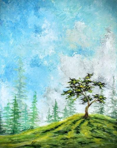 A Top Of The Hill paint nite project by Yaymaker