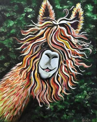 A Al Paca paint nite project by Yaymaker