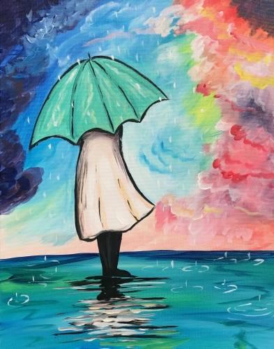 A Rainy Daze paint nite project by Yaymaker